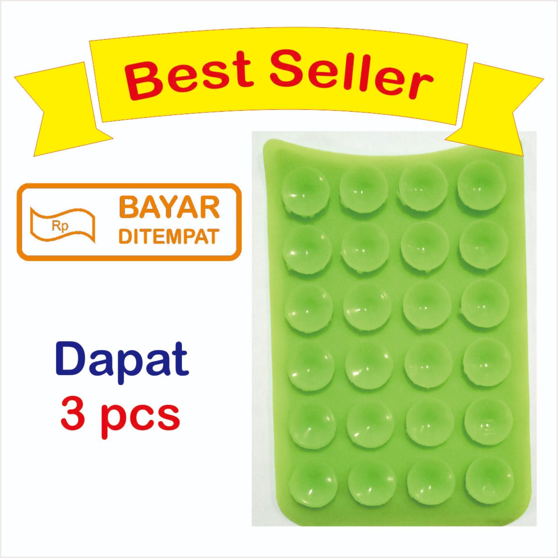 HB Tempelan Belakang HP Stand Holder Gurita 24 Tentakel (3 Pcs)