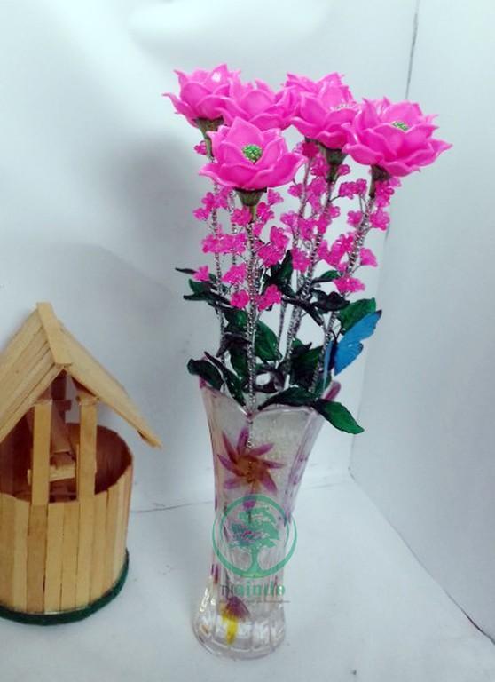 Sangadam Bunga Anggrek Mekar Cantik Hiasan Ruang Tamu   Kantor Bunga ... 2149ed9769