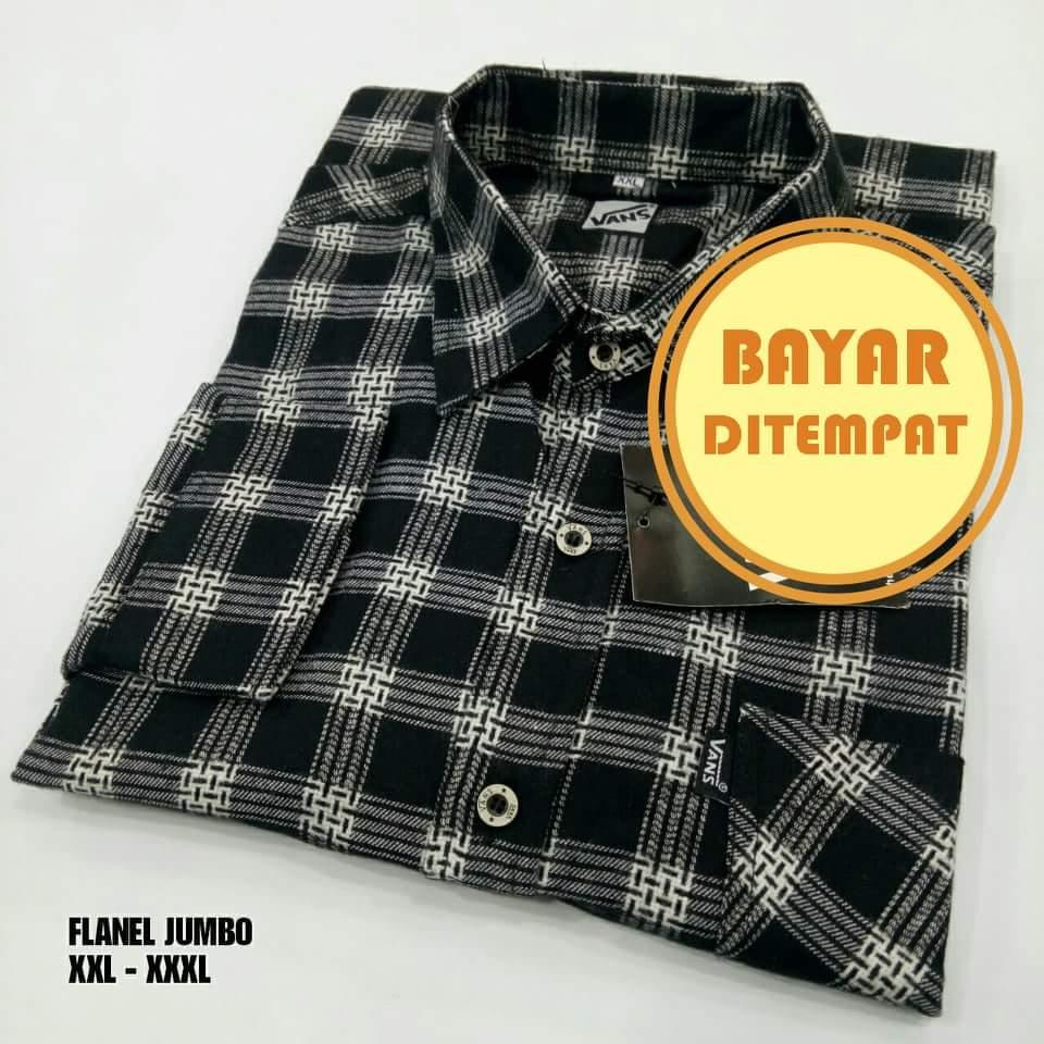 Kemeja Flannel Big Size XXL Dan XXXL All Colection Premium