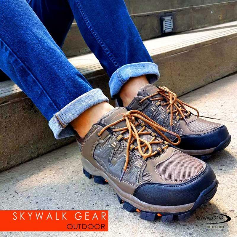 Harga Skywalkgear Olex Sepatu Sneakers Sport 958 Coffee Skywalkgear Ori