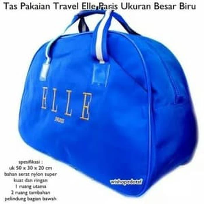 Tas Travel Koper Tas Pakaian Jinjing Pakaian Elle Maroon Travel Bag ... 785238891b