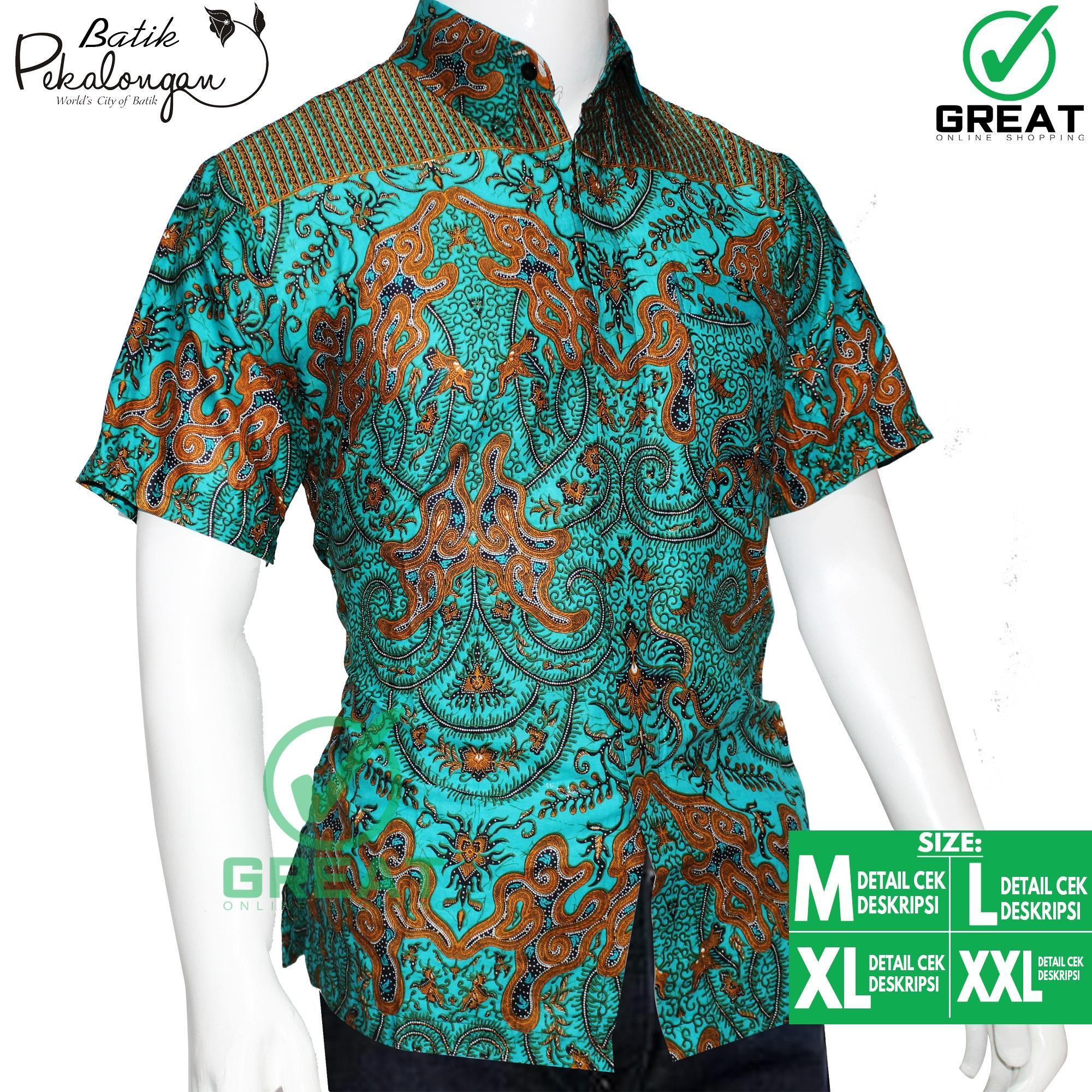 Kelebihan Baju Batik Pria Kemeja Batik Pekalongan Batik
