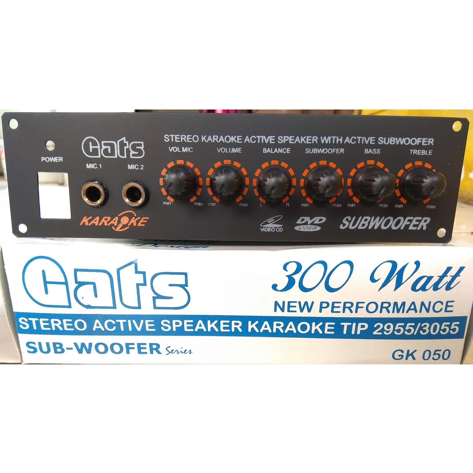 Kelebihan Mb 179 Amplifier Mono Subwoofer 300w Tomcat Model 4 Sanken 300 Watt Power Kit Speaker Aktif Stereo Karaoke