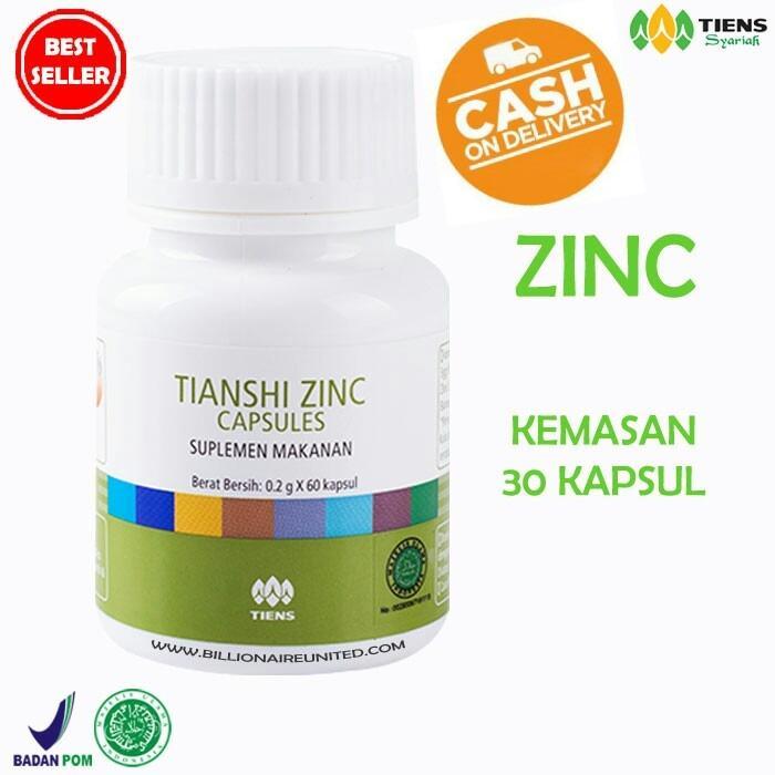 Diskon Zinc Tiens Herbal Penambah Berat Badan 30 Kapsul Free Member Card Ths Jawa Timur