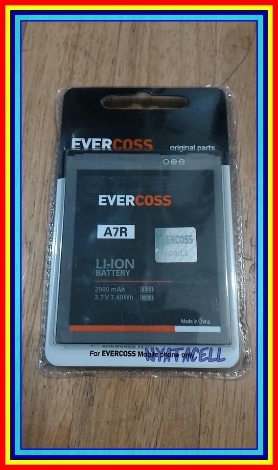 Evercoss A7R 2000Mah Batre Baterai Original 100% Ori A7 R