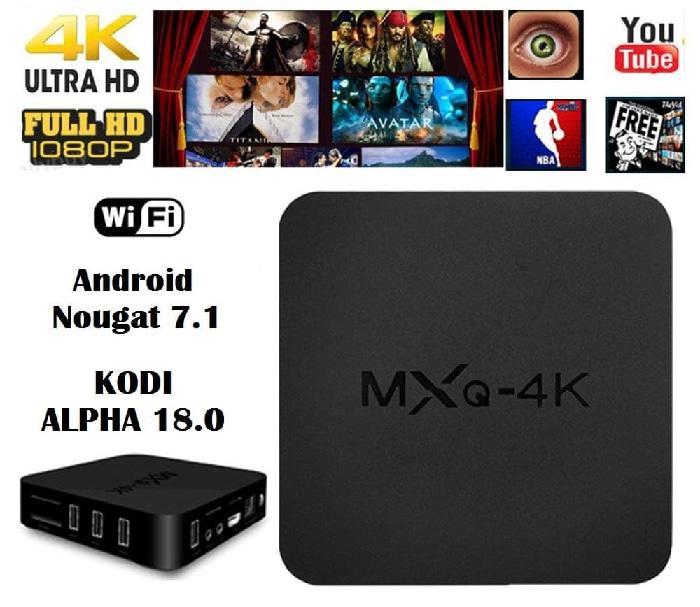 mxq 4k android smart tv box android nougat smart tv box mxq 4k rk3229  good quality bergaransi original