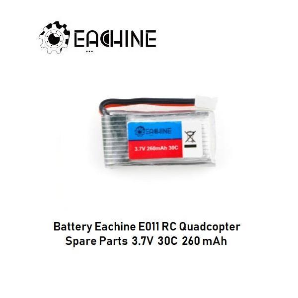 Battery Eachine E011 Spare Parts 3.7V 35C 260mAh Original - 3