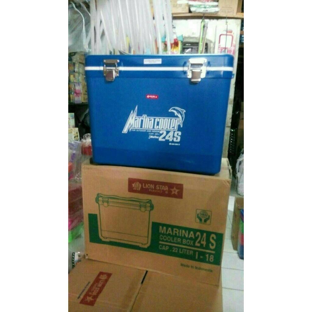 Lion Star Marina 24s Cooler Box 24 Liter Daftar Harga Terkini Dan Libi Microgynon Isi 10 Kotak 24l Es F5gqim