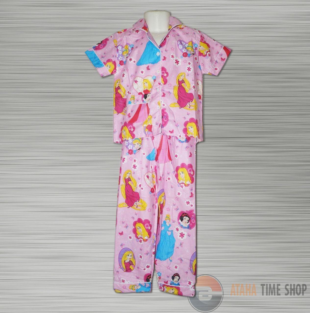 Piyama Atau Baju Tidur Anak FROZEN ( 4-7 Tahun)