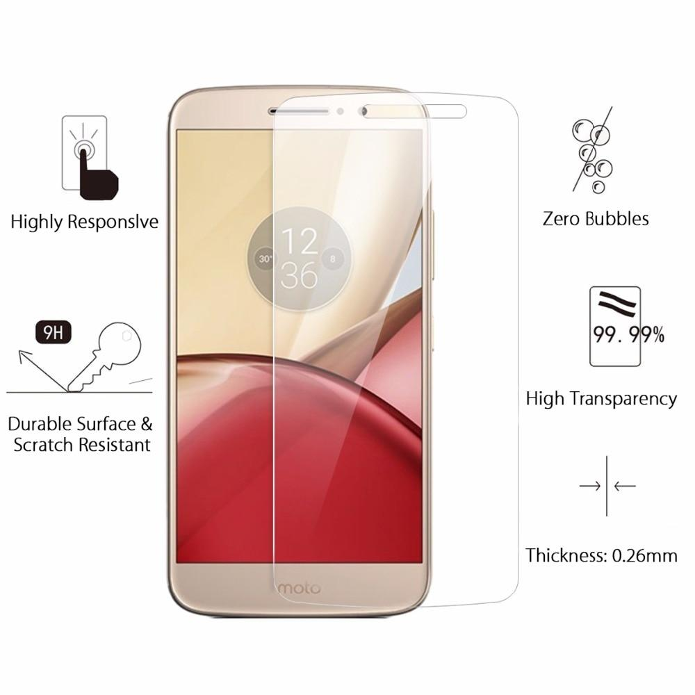 Tempered Glass Anti Gores Motorola Moto M