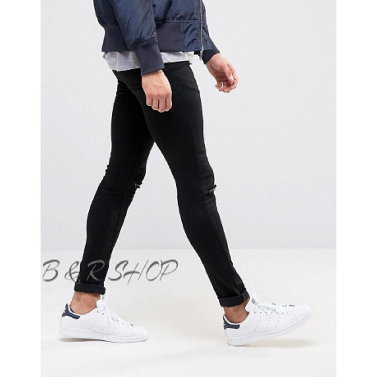 ... B & R SHOP Celana Jeans Lois Skinny Sobek Jeans Sobek Jeans Robek