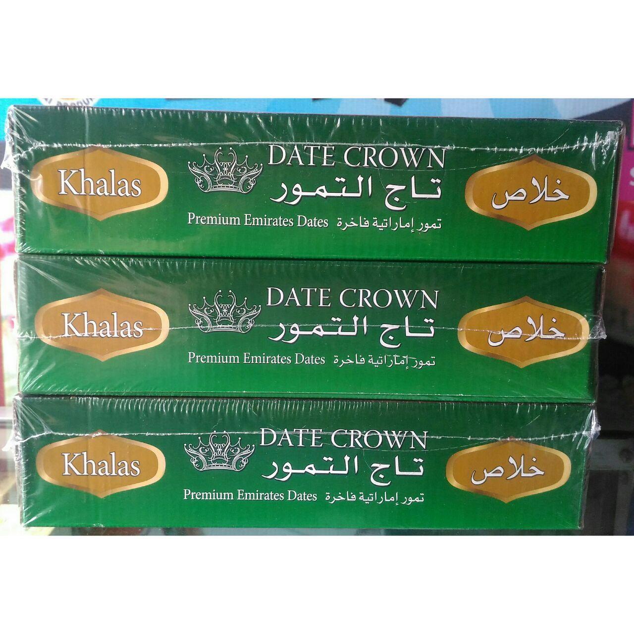 Kurma Khalas Date Crown 1kg Produk Terbaik Wiki Harga Hikmah 3