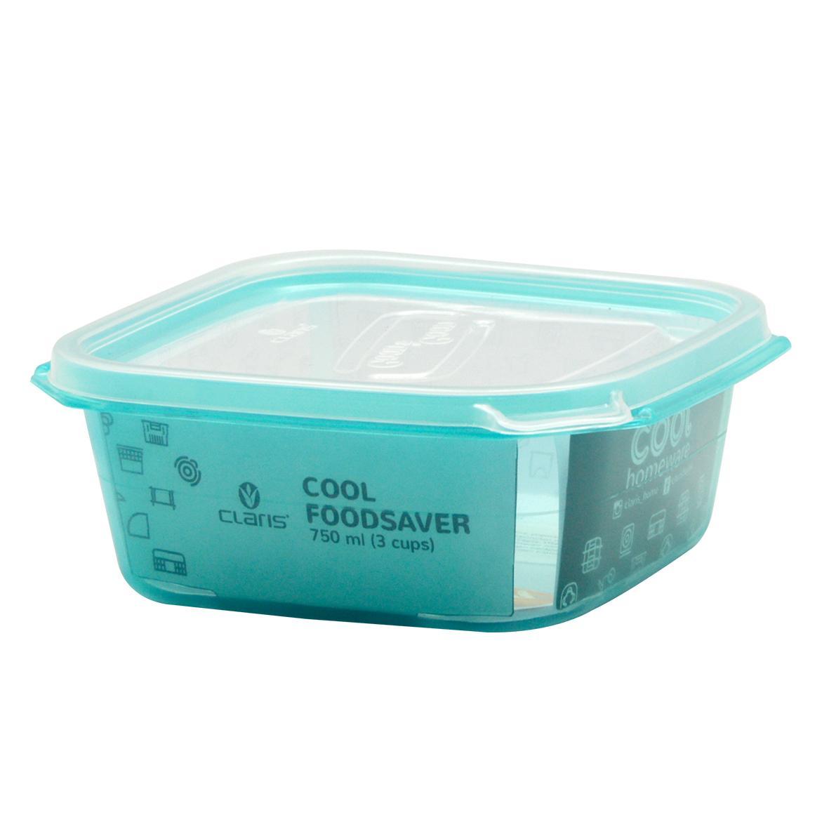 Claris SQ Foodsaver 720 ML Bisa Microwave / LunchBox Kotak penyimpanan makanan 2727