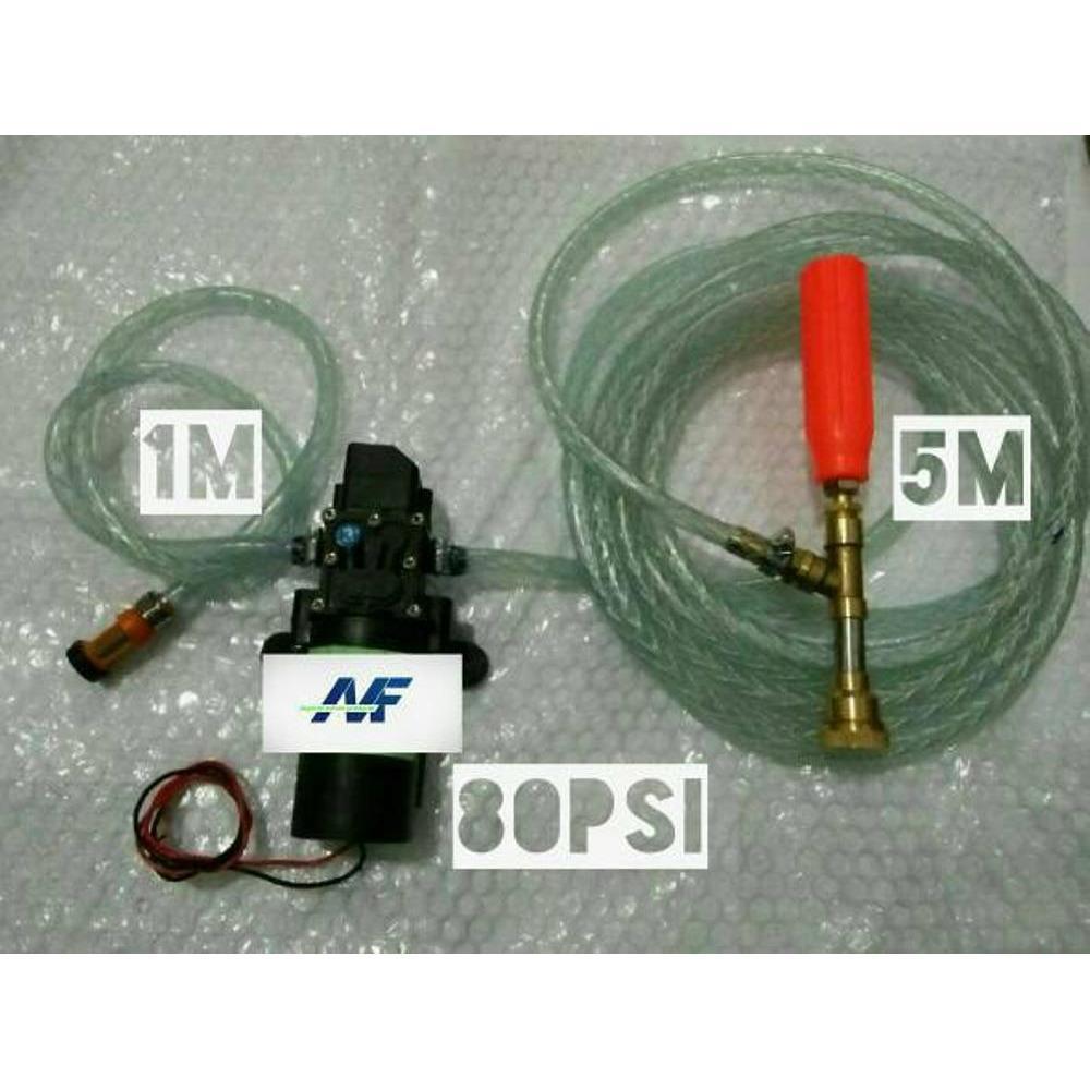 Features Pompa Air Cuci Motor Mobil Ac Mini Steam Mesin Doorsmeer Waterpump Alat Jetcleaner Dc Dinamo Sprayer 3