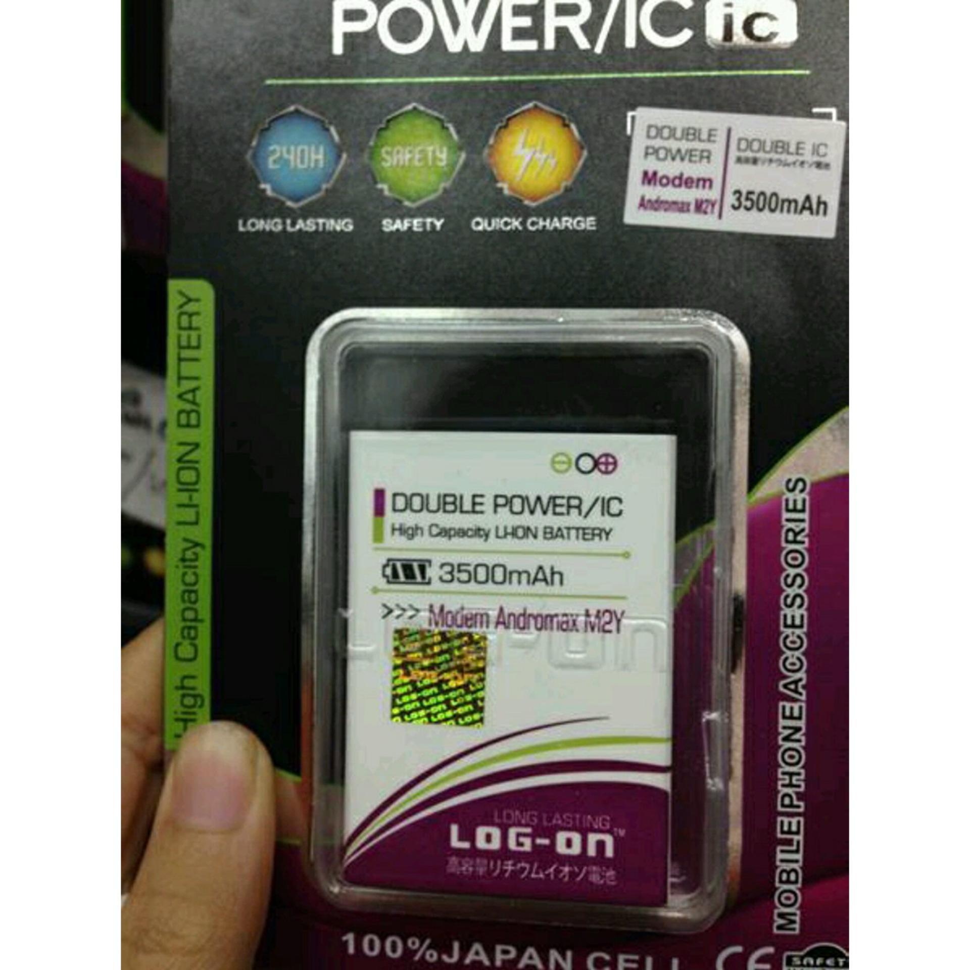 Fitur Batre Baterai Double Power Ic Log On Himax H Two M22 Dan Harga Advan S5 E Pro Putih Andromax M2y Modem