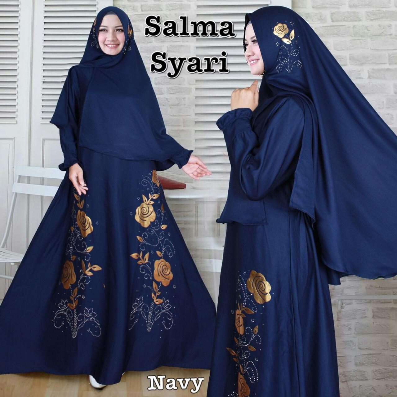 Komaya Fashion Kss 888 - Salma Syari Navy