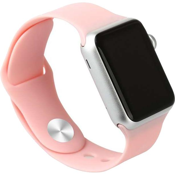 Cooltech Tali Jam Strap Band iwatch Apple Watch Sport Silicone Rubber Pink 38mm