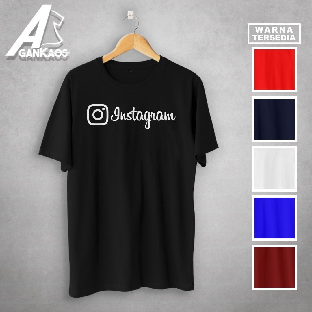 Kaos Keren Instagram Tshirt Combed 30S Kualitas Distro Termurah