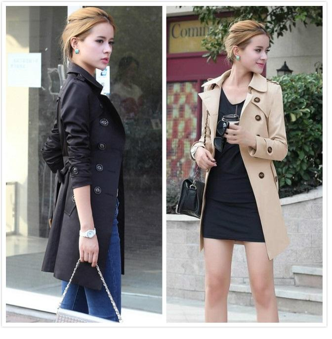 Ladies Winter Jaket Autumn Mantel For Women Trench Coat wanita