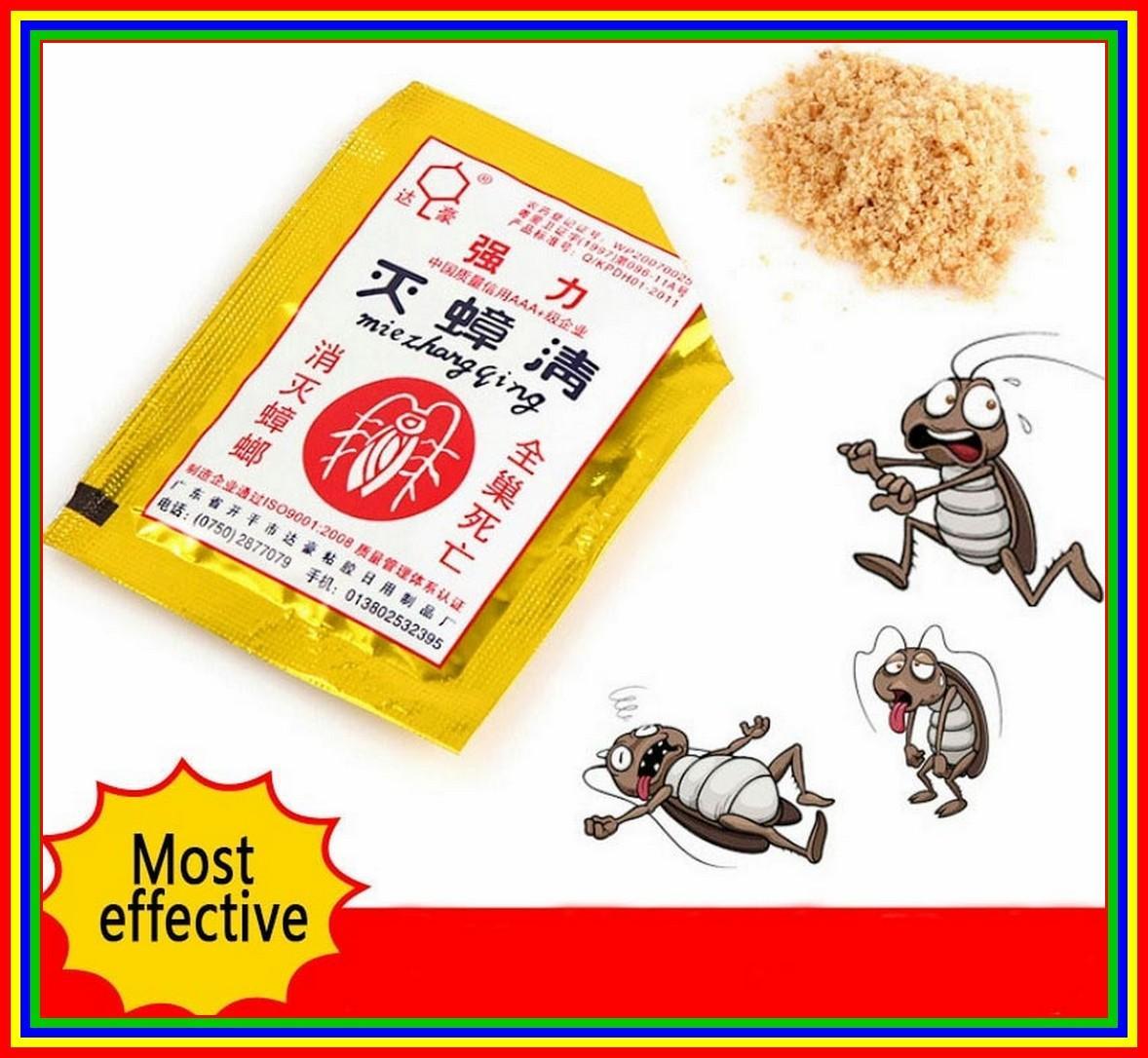 Miezhangqing Bubuk Racun Anti Kecoa Semut 1Pcs