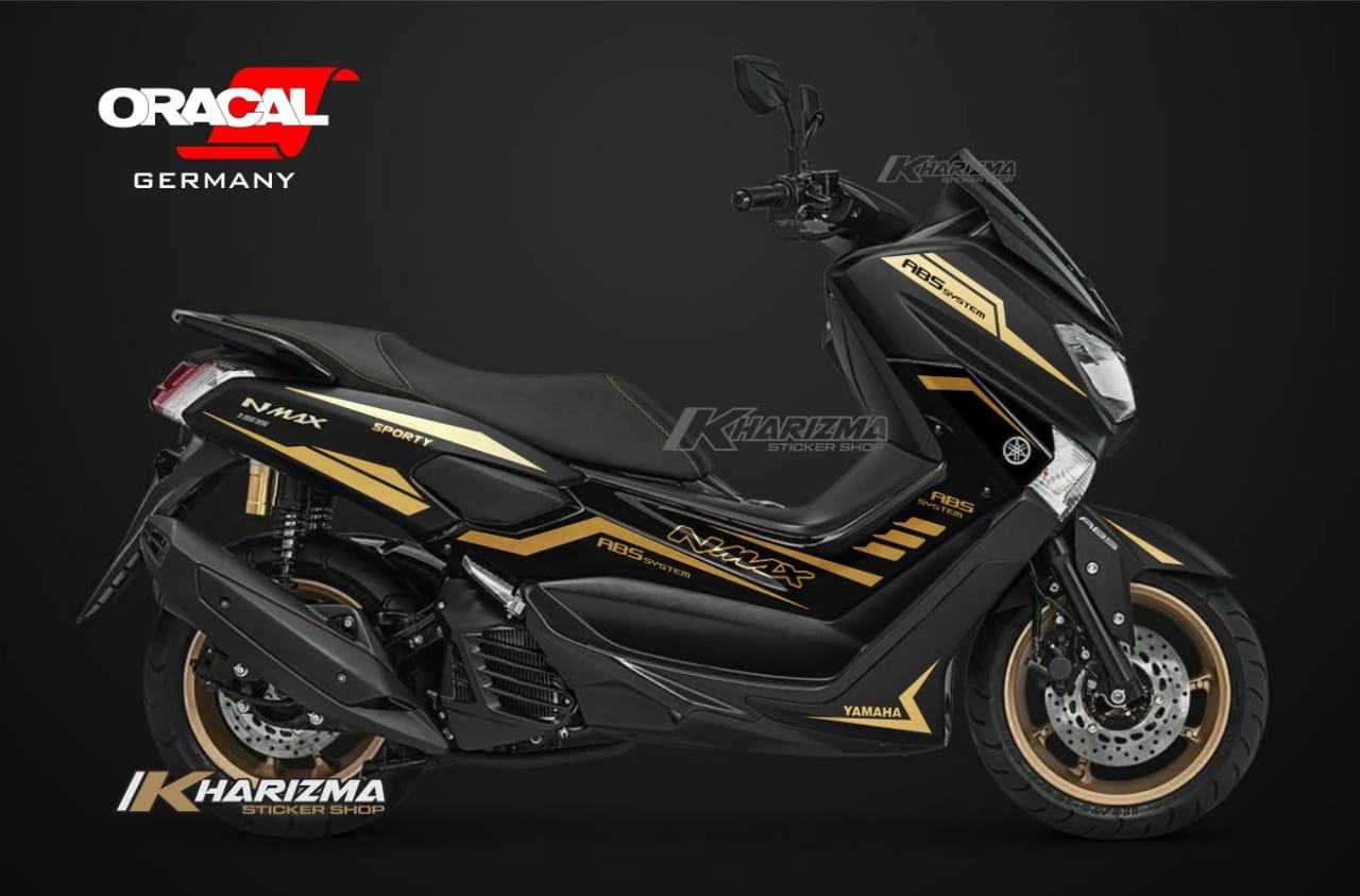 ME cutting sticker for YAMAHA NMAX black