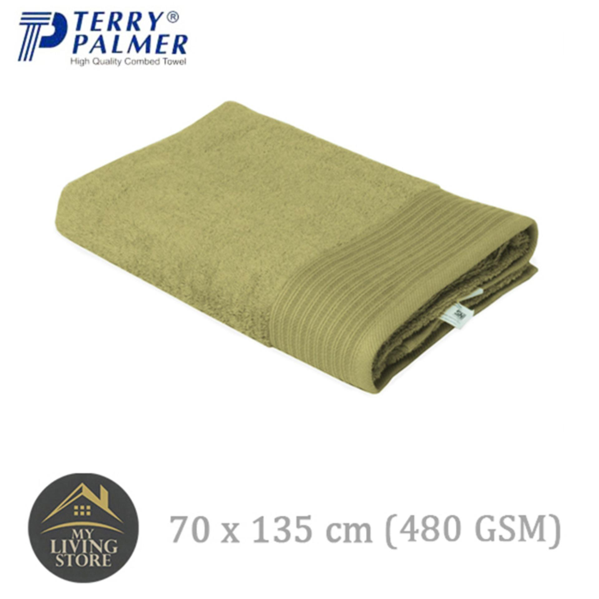 Spesifikasi Terry Palmer Handuk Eternal Bath Towel 70 X 135 Cm 480 Gsm Hijau Terry Palmer Terbaru