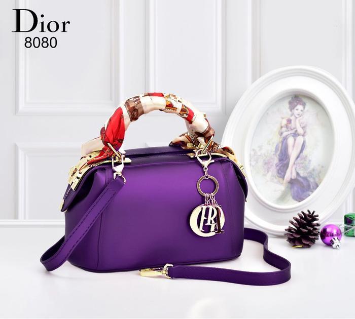 BEST SELLER-TAS IMPOR MURAH Dior Doctor Jelly 8080B  with syal  TAS BRANDED 9f0582811f