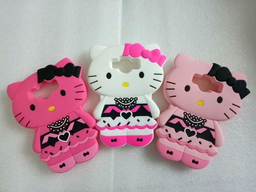 NDR-Store Softcase Case Casing Samsung J7 Pro 3D karakter Hello Kitty Bonus Handsfree