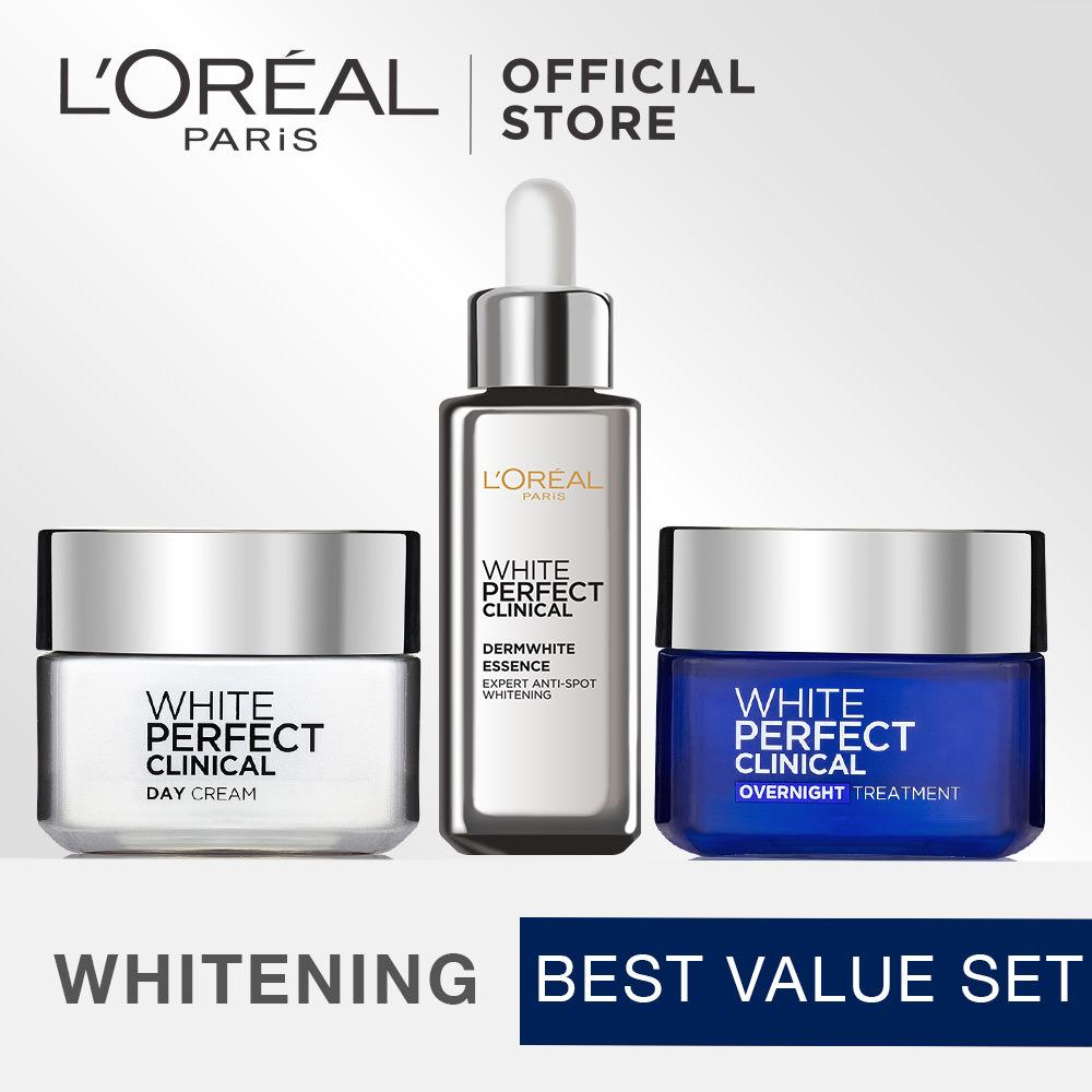 Harga L Oreal Paris Dermo Expertise White Perfect Clinical Cream Bundle Origin