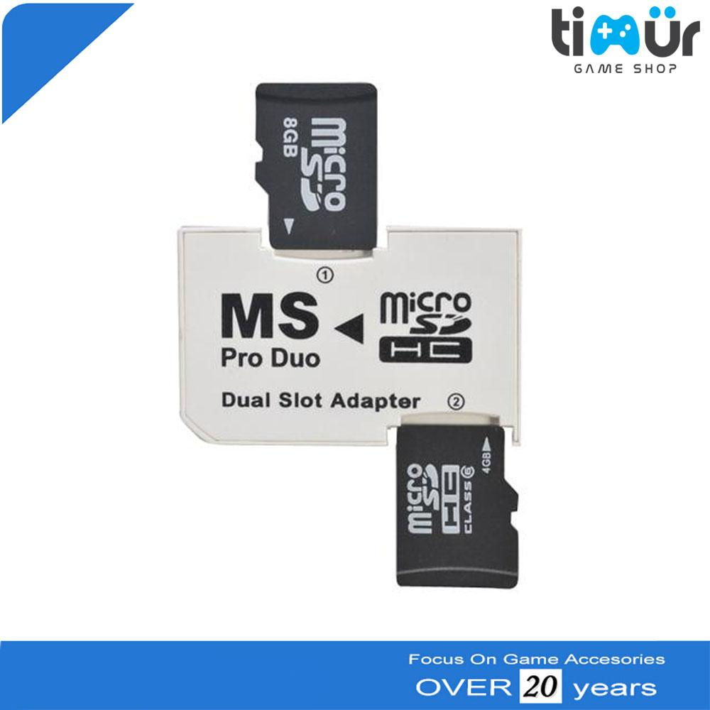 Photofast Dual Slot Converter Micro SD to Memory Stick Pro Duo Adapter
