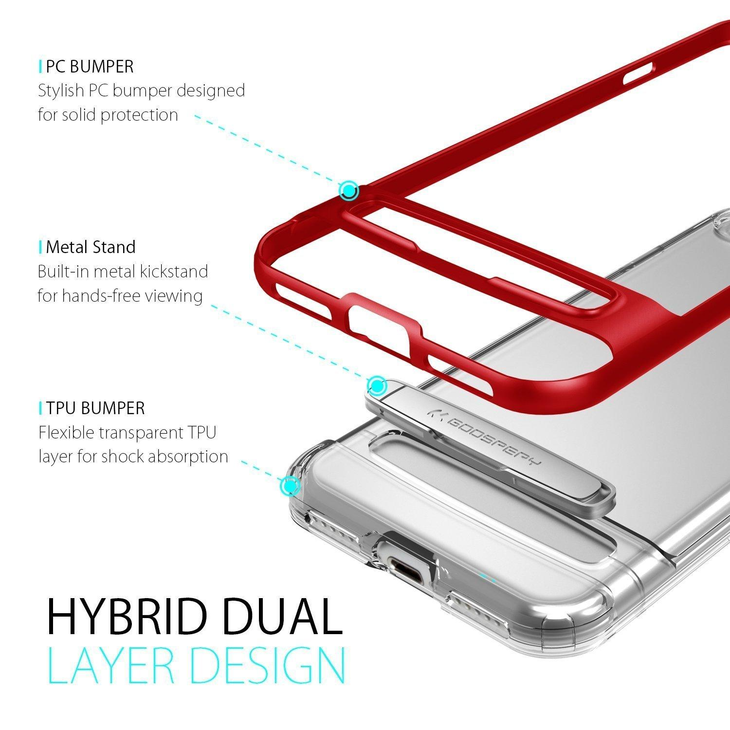 Fitur Mercury Dream Bumper Hybrid Case For Iphone X Red Dan Harga Goospery Soft Feeling Jelly Mint Detail Gambar Terbaru