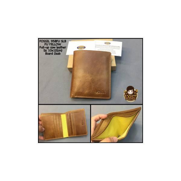 Dompet Cowok Fossil 958Fuslb Kw Super Dompet Pria Dompet Kulit Fossil