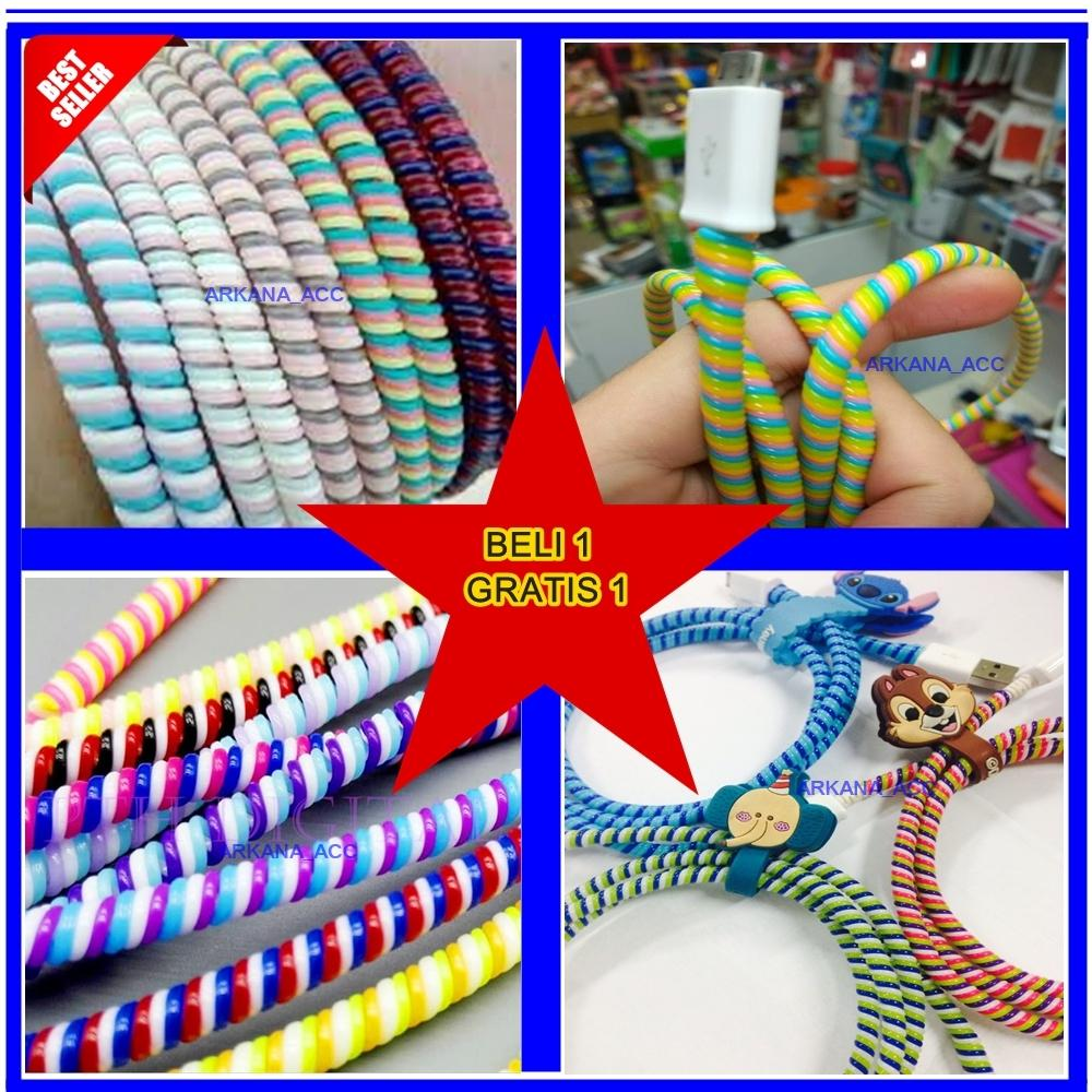 Universal Pelindung Kabel 3 Warna Sale Beli 1 Gratis 1- Warna Acak [ arkana_acc ]