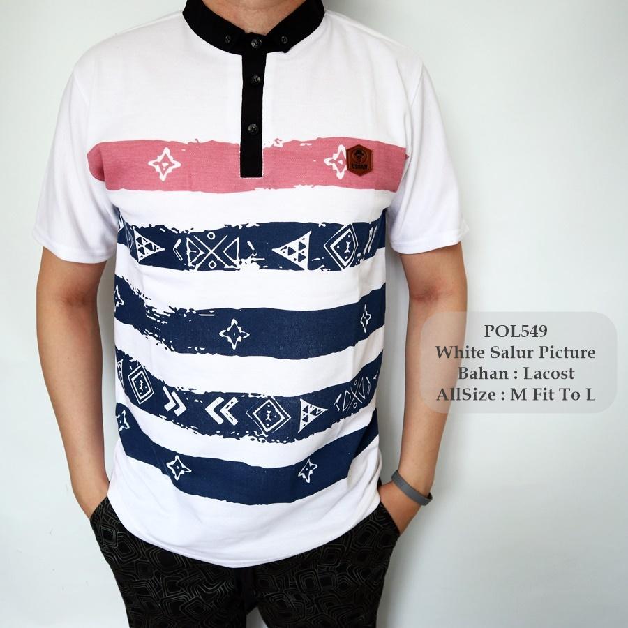 TGF 549 Polo Shirt / Kaos Polo Cowok / Baju Polo Pria Berkerah / Kaos Kerah