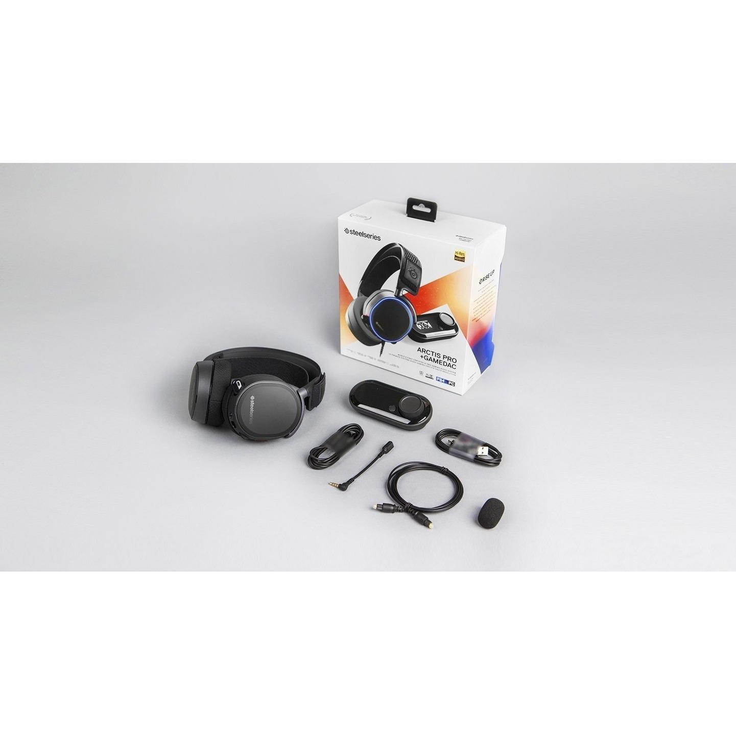 Fitur Steelseries Arctis Pro Rgb With Game Dac Gaming Headset Dan Nyk Hs P10 Usb 71 4