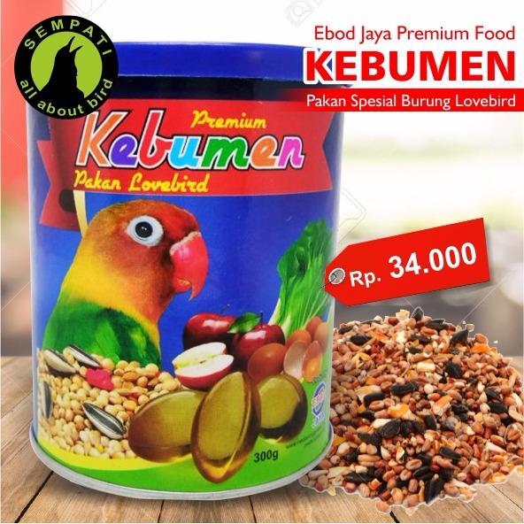 Kebumen Premium Ebod Jaya Pakan Harian Burung Lovebird