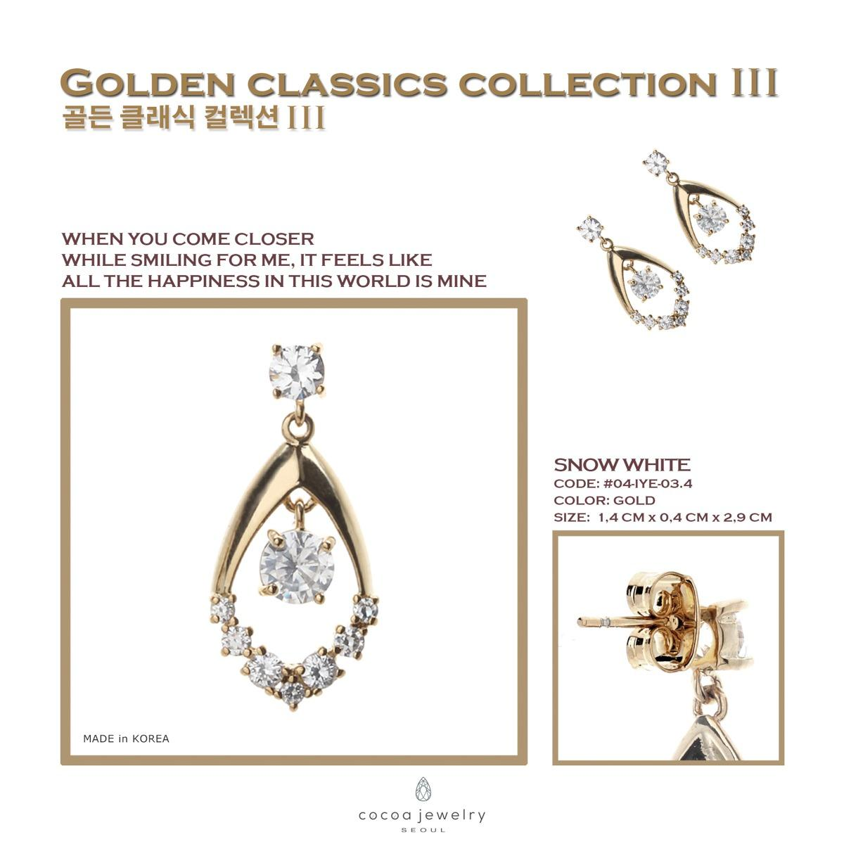 Fitur Cocoa Jewelry Snow White Set Collection Dan Harga Terbaru The Special Gift Anting Elegant Love 3