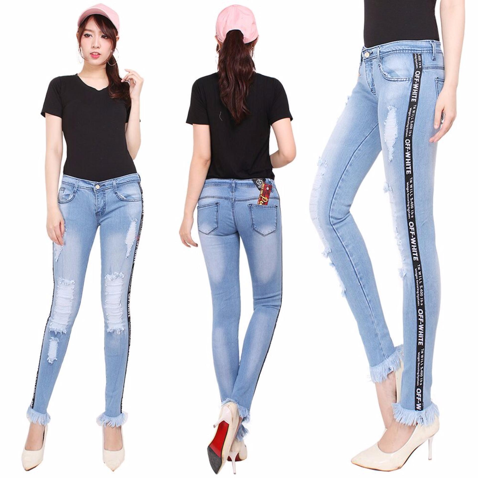 Beli Master Jeans Celana Jeans Wanita Model Terbaru Murah Dki Jakarta