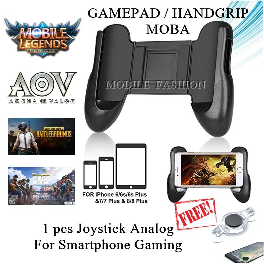 Game Pad Hand Grip Mobile Game Pad Mobile Joystick For Mobile Legend AOV PUBG Free Fire