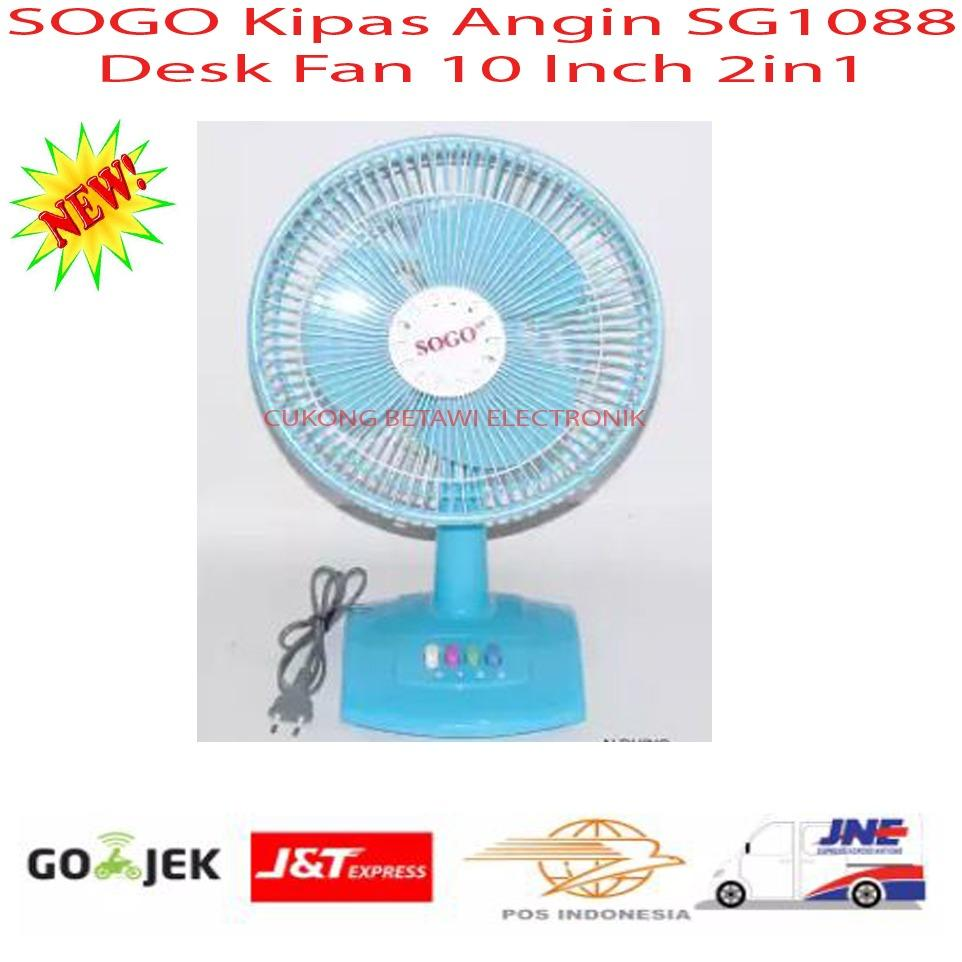 SOGO Kipas Angin SG1088 Desk Fan 2in1-Promo
