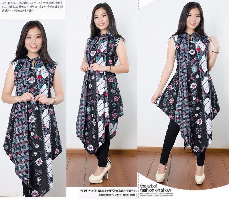 Miracle Dress Maxi Kirana Longdress Panjang Kaftan Batik Wanita