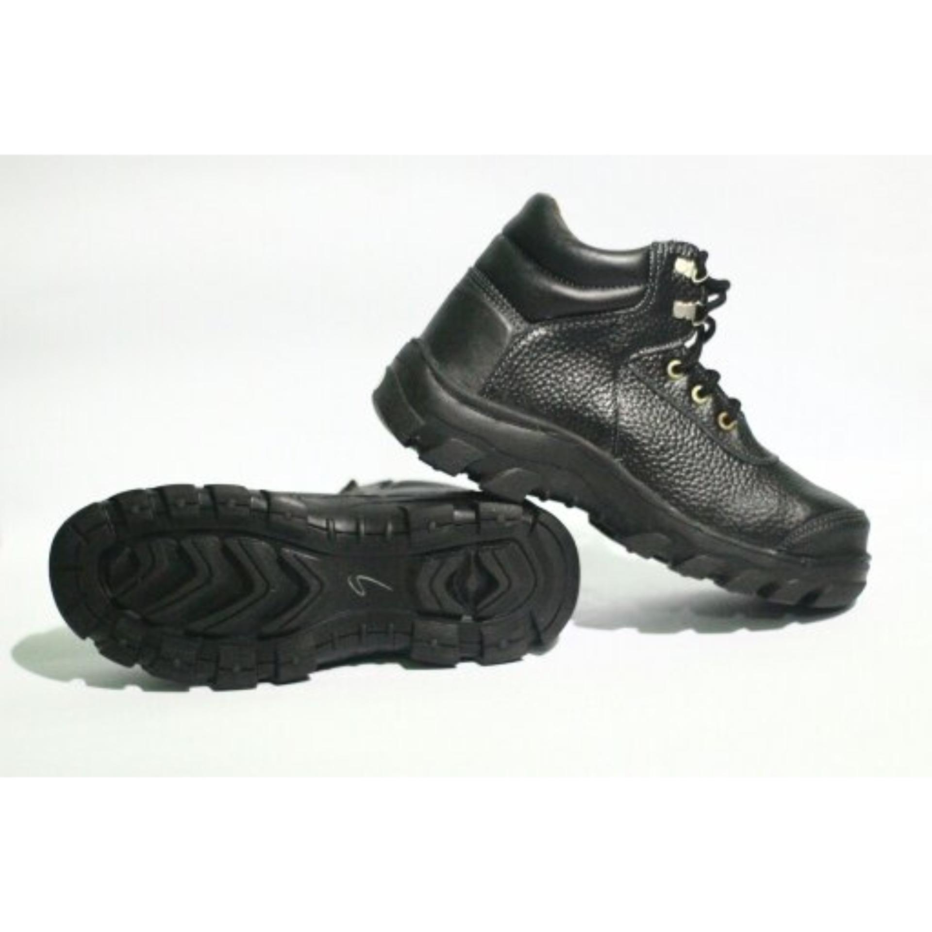 Bsm Soga Sepatu Boot Kulit Asli Pdl Pdh Touring Bikers Outdoor 275 Formal Boots Kerja Pria Elegan Hitam Source Gambar Produk