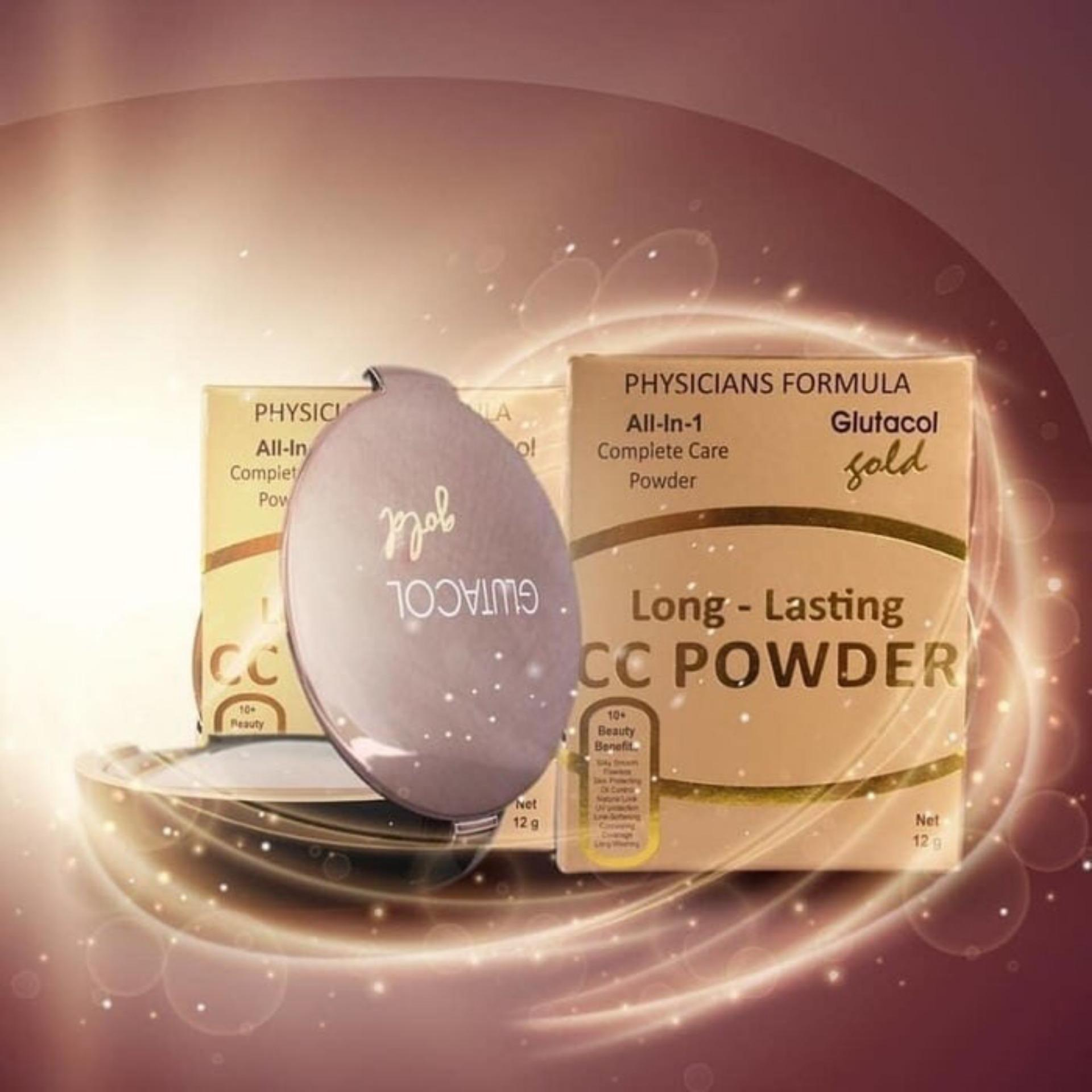 promo CC POWDER GLUTACOL GOLD BPOM original