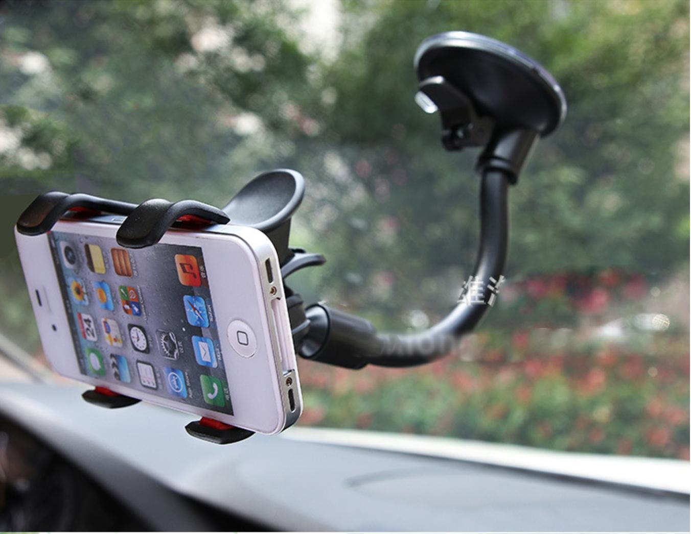 Detail Gambar Holder Mobil Jepit - Car Holder Model Jepit - Holder Hp Mobil Terbaru