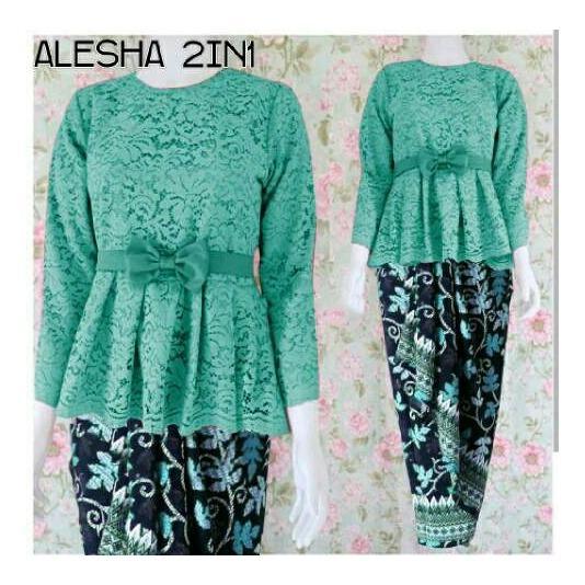 Spesifikasi Honeyclothing Setelan Wanita Aliska Setelan Kutubaru Setelan Batik Setelan Kebaya Fashion Wanita
