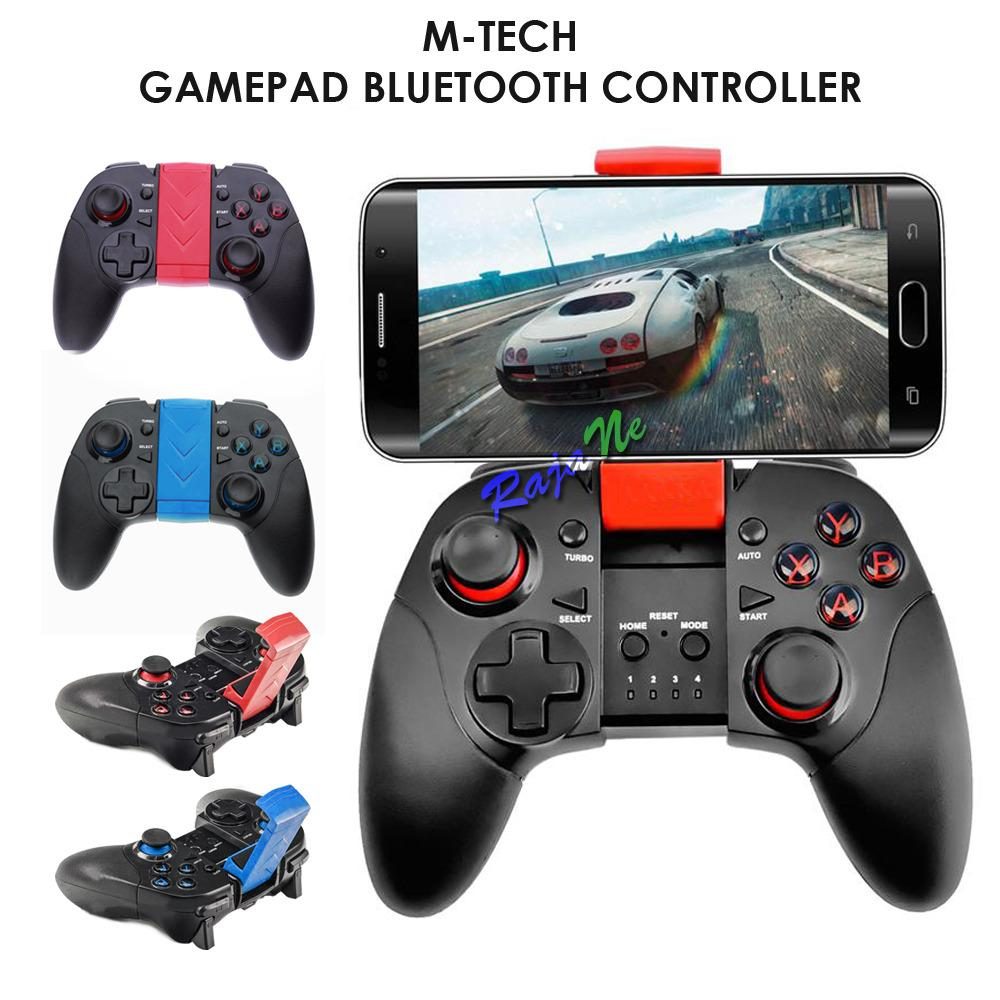 M-Tech 7004 Gamepad Turbo Bluetooth with Lithium Battery
