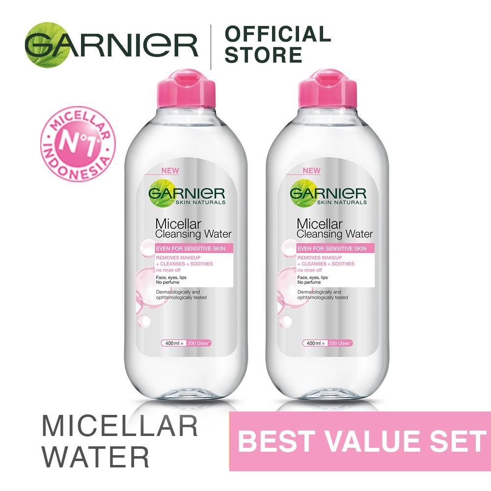 Jual Garnier Micellar Water Pink 400 Ml Beli 2 Lebih Hemat