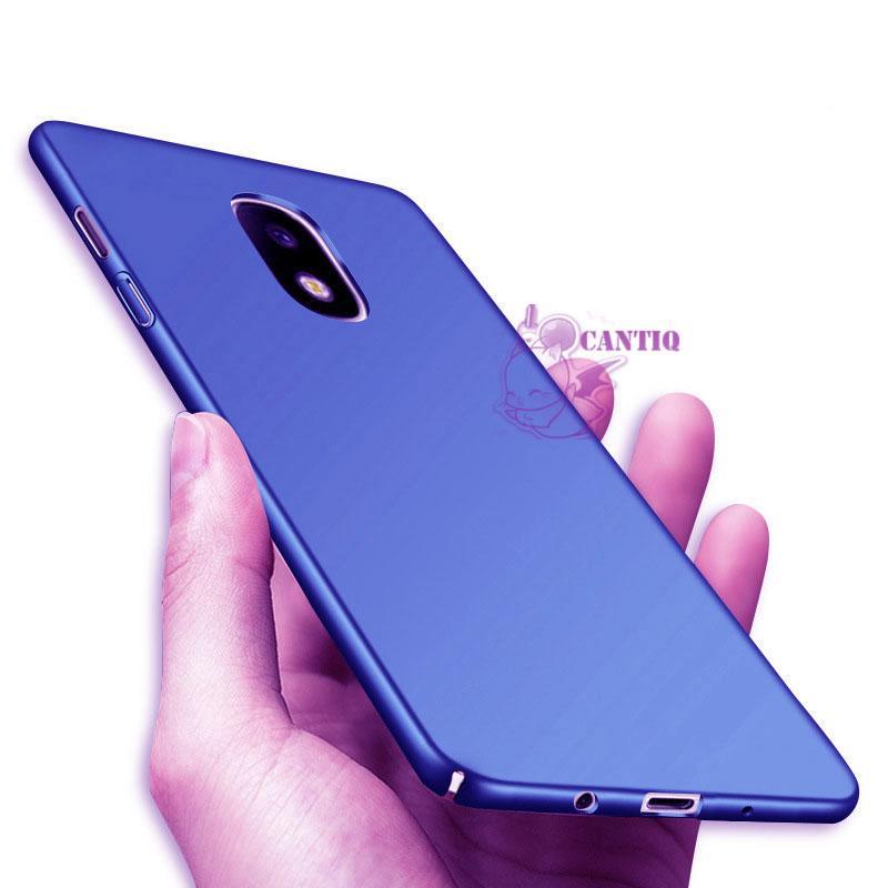 QCF Case Samsung Galaxy J3 Pro 2017 Hard Slim Blue Mate Anti Fingerprint Hybrid Case Baby