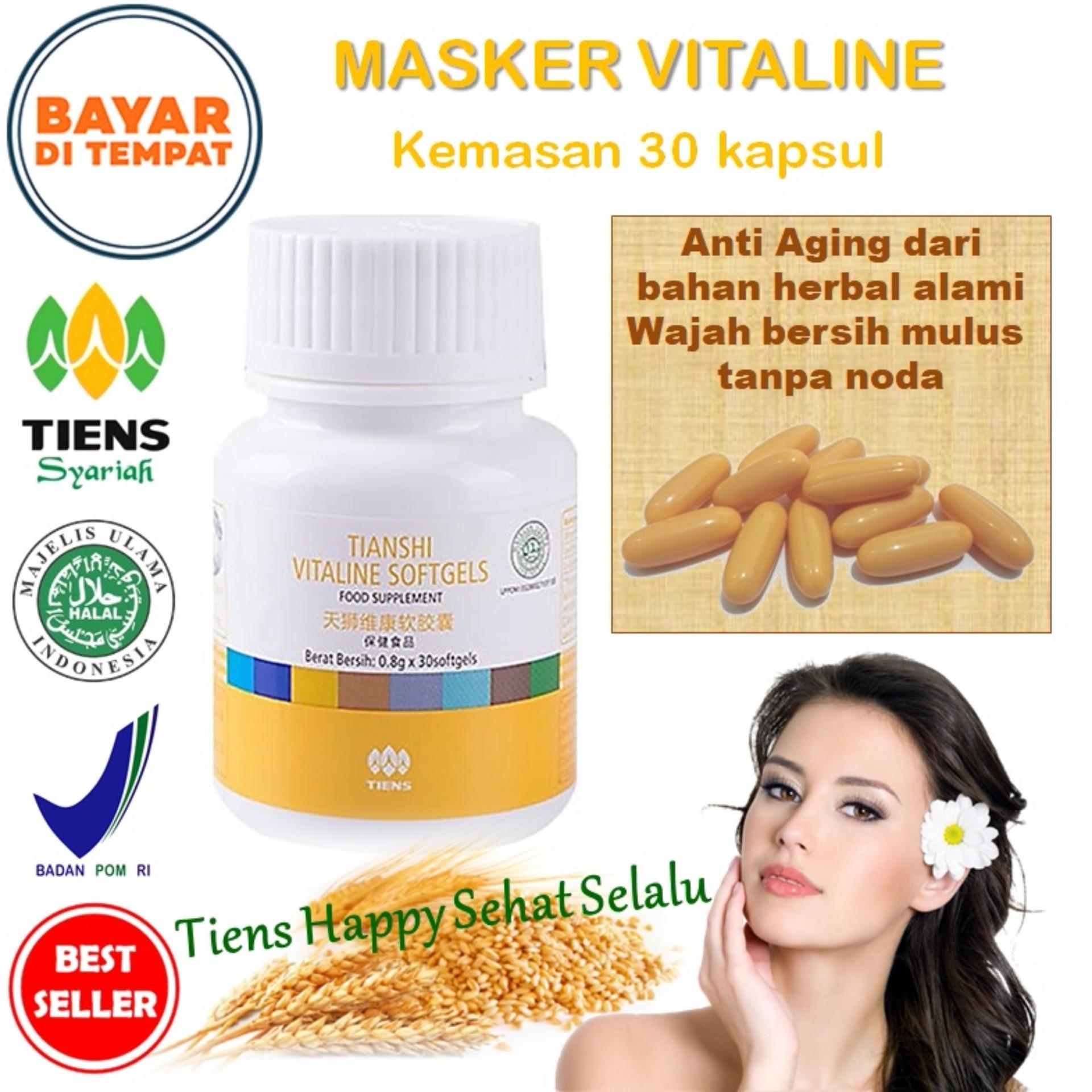 Jual Beli Tiens Vitaline Vitamin E Pembersih Flek Jerawat 30 Kapsul By Tiens Happy Sehat Selalu Promo Di Indonesia