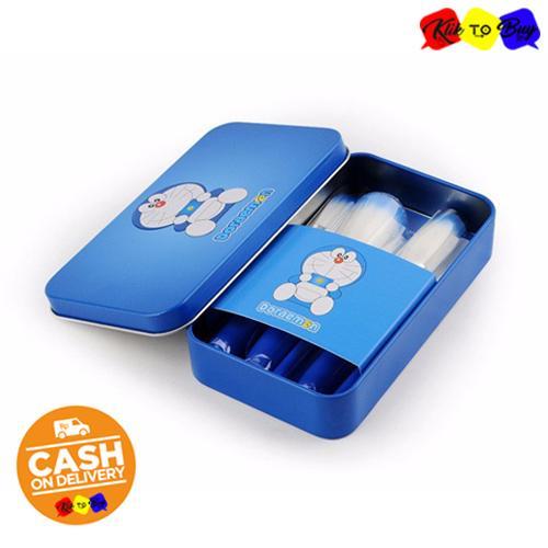 ... KTB - Doraemon Make Up Soft Brush Set 7 IN 1 Paket Set Kuas Make Up ...